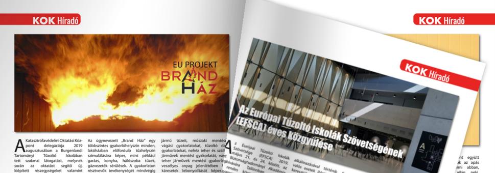 A Katasztrófavédelmi Oktatási Központ lapja